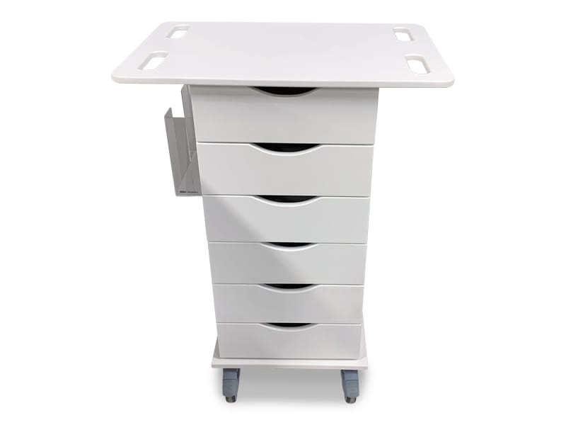 Antimicrobial Delivery Carts 2