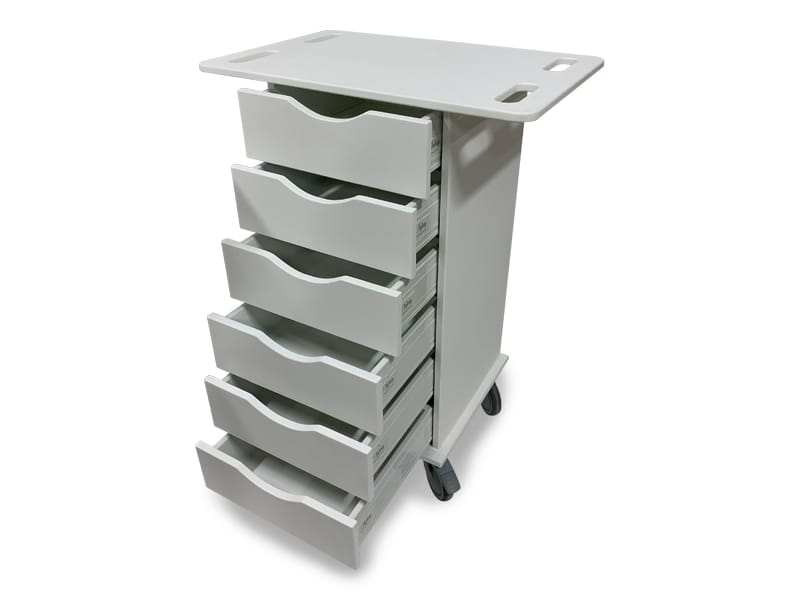 Antimicrobial Delivery Carts 3