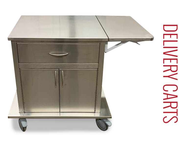Stainless Steel Carts Delivery Carts