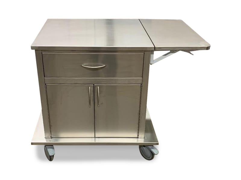 Stainless Steel Delivery Carts 1