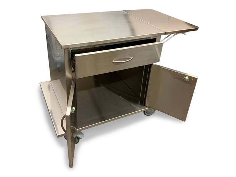 Stainless Steel Delivery Carts 2