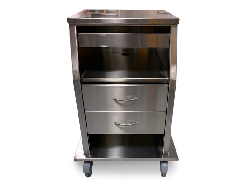 Stainless Steel Fetal Monitor Carts 6