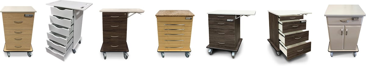 Supply Carts Less Clinical